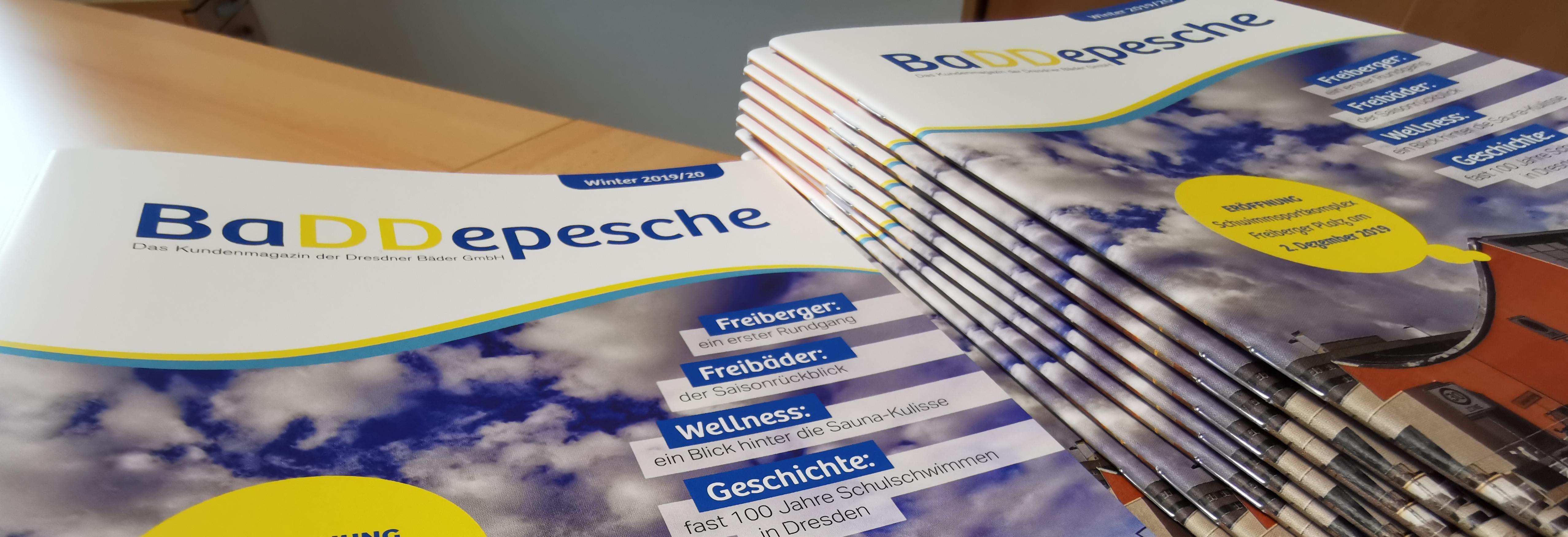 Kundenmagazin Dresdner Bäder