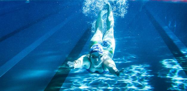 Tauchen Schwimmhalle Bühlau